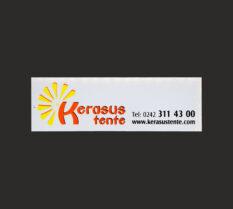 PVC (Sticker) Etiket